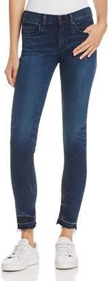 Rag & Bone Released-Hem Skinny Jeans in Alembic