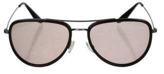 Barton Perreira Tinted Aviator Sunglasses