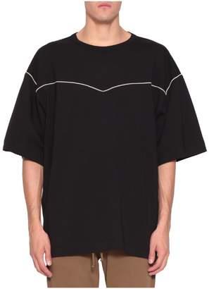 Dries Van Noten Piping Cotton T-shirt