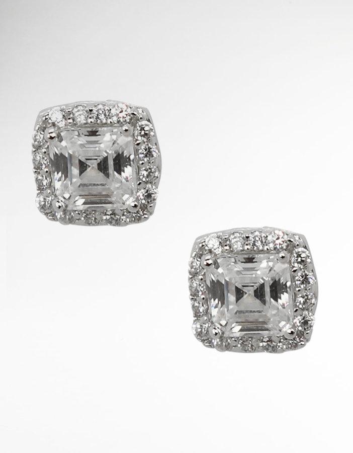 NINA JEWELRY Marilyn Crystal Stud Earrings