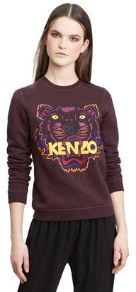 Women's Kenzo Tiger Embroidered Cotton Pullover $310 thestylecure.com