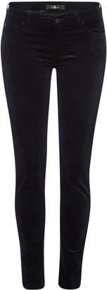 7 For All Mankind The Skinny Velvet Jeans