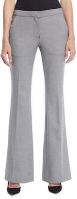 Tibi Hudson Flared-Leg Boot-Cut Pants