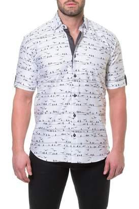 Maceoo Fresh Wire Slim Fit Sport Shirt