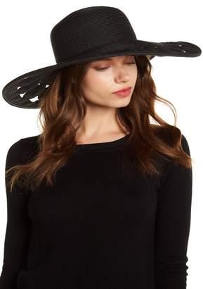 SAN DIEGO HAT Ultra-Braid Cutout Circle Floppy Hat