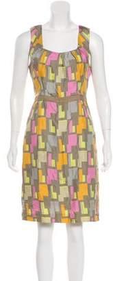 Milly Silk Knee-Length Dress