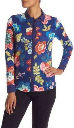 Desigual Circular Button Up Top