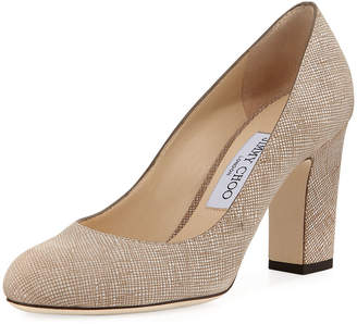 Jimmy Choo Billie 85mm Block Heel Pump