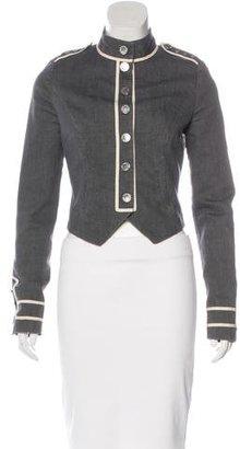 Alice by Temperley Long Sleeve Denim Jacket $130 thestylecure.com