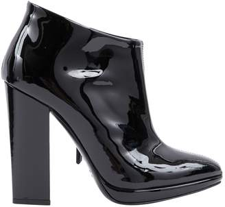 Giuseppe Zanotti Patent leather ankle boots
