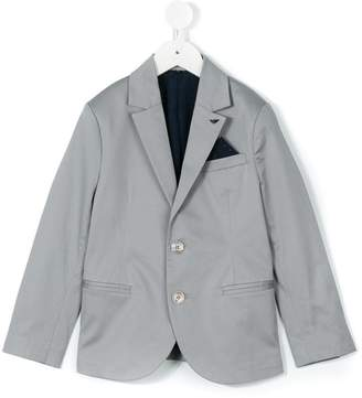 Emporio Armani Kids two button blazer