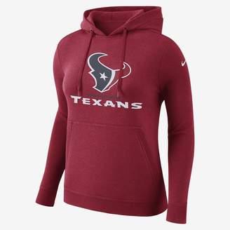 Nike Club (NFL Texans) Women's Pullover Hoodie