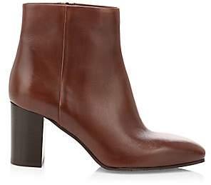 Aquatalia Women's Florita Polished Weatherproof Leather Ankle Boot