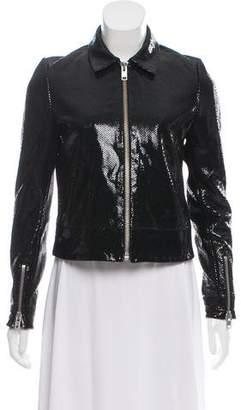 Zoe Karssen Patent Leather Jacket