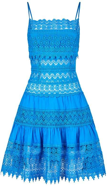 Charo Ruiz Ibiza Joya Lace Mini Dress