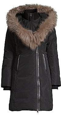 Mackage Women's Kay-X Fox Fur Collar Down Coat