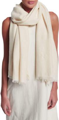 Brunello Cucinelli Paillette-Embellished Cashmere Scarf