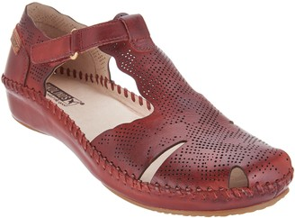 PIKOLINOS Leather T-Strap Shoes - Vallarta