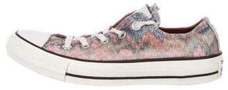Converse Missoni x Canvas Low-Top Sneakers
