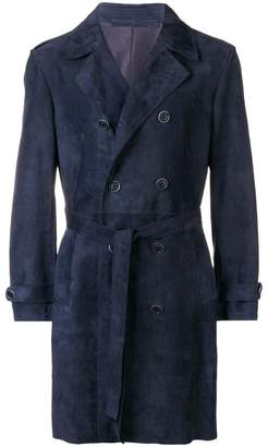 Salvatore Santoro double breasted trench coat