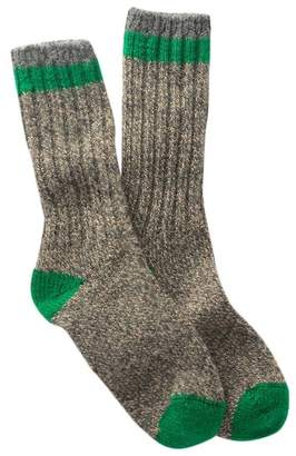 Woolrich Tipped Ragg Crew Socks