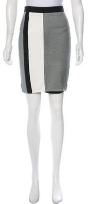 Michelle Mason Knee-Length Pencil Skirt