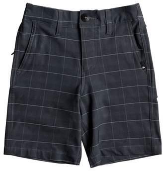 Quiksilver Union Plaid Amphibian Board Shorts