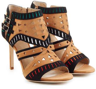 Tamara Mellon Suede Arizona Sandals