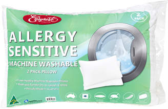 Easy Rest Set of 2 White Allergy Sensitive Pillows