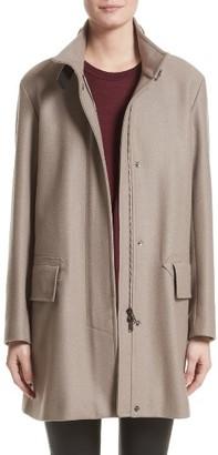 Women's Belstaff Moryah Wool Blend Coat $1,295 thestylecure.com