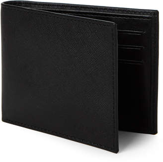 Calvin Klein Saffiano Bi-Fold Wallet & Money Clip Set
