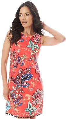 Apt. 9 Women's Printed Pom Dress