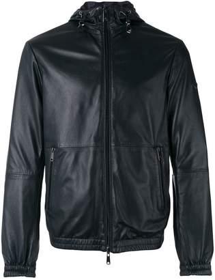 Armani Jeans zip hooded jacket
