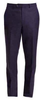 Saks Fifth Avenue COLLECTION Wool, Silk& Linen Pants