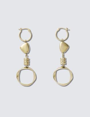 A.P.C. Large Lise Earrings