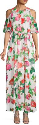Calvin Klein Collection Floral Maxi Dress