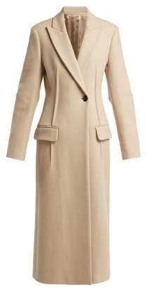 Joseph Sampson Wool Blend Coat - Womens - Beige