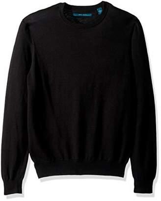 Perry Ellis Men's Jersey Knit Crew Neck Sweater