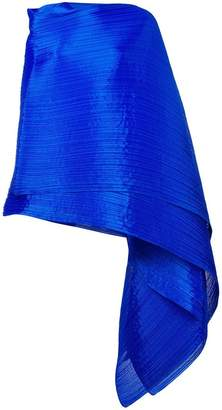 Pleats Please Issey Miyake pleated wrap scarf