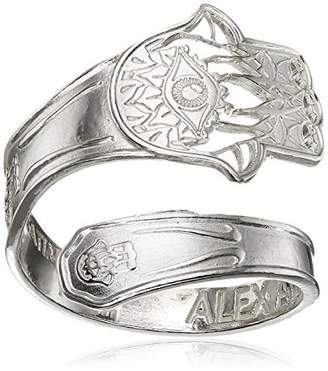 Alex and Ani Spoon Hand of Fatima Stackable Ring