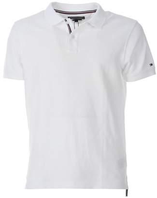 Tommy Hilfiger Slim Fit Light White Polo