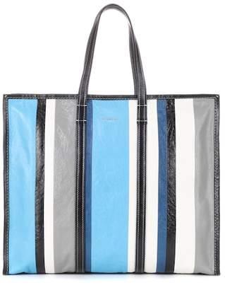 Balenciaga Bazar L leather shopper