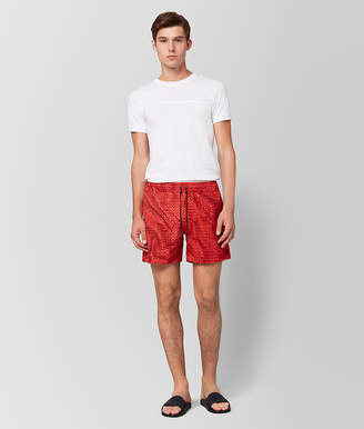 Bottega Veneta RED POLYESTER SWIMSUIT