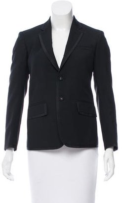 Thom Browne Woven Notch-Lapel Blazer $295 thestylecure.com