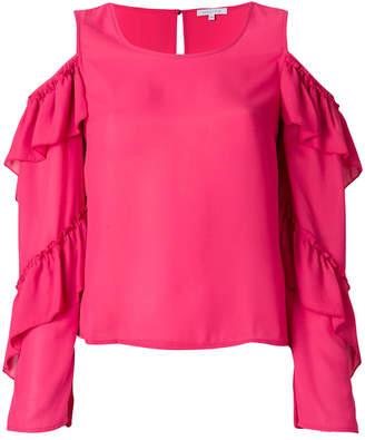 Patrizia Pepe cold shoulder blouse