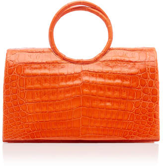 Nancy Gonzalez Regina Crocodile Top Handle Bag