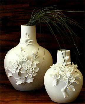 Roost Porcelain Flower Vase