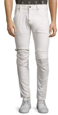 G Star 5620 3D Sllim Fit Zip Knee Jeans