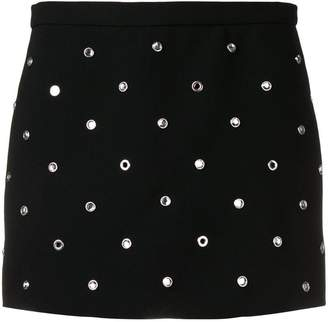 RED Valentino crystal studded skort