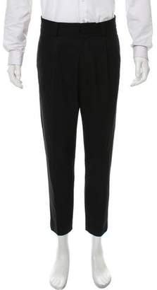 Robert Geller Cropped Skinny Dress Pant